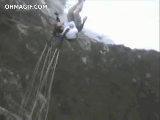 Enlace a Paracaídas más puenting, like a boss