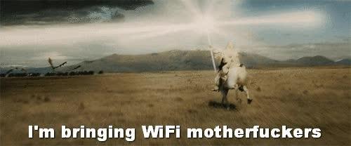 Enlace a Así me imagino cuando a mi router cuando pierde la señal y vuelve al rato