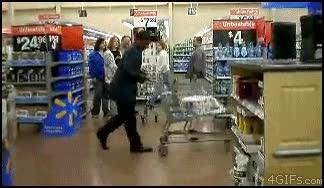 Enlace a ¿ Aburrido en el supermercado? Pues compra haciendo el Moonwalk