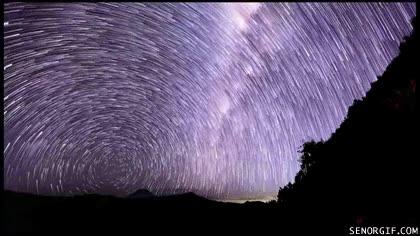 Enlace a Circulación de estrellas en el monte Semeru de Indonesia