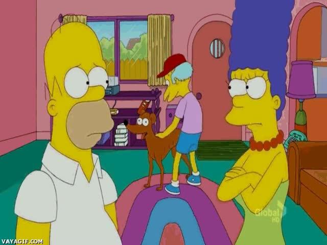 Enlace a El señor Burns viviendo una segundo y zoofílica juventud