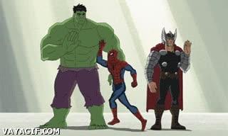 Enlace a Por eso no puedes estar en Los Vengadores, Spiderman