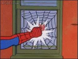 Enlace a Spiderman y su lógica para abrir las ventanas