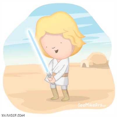 Enlace a Si yo fuese Jedi...