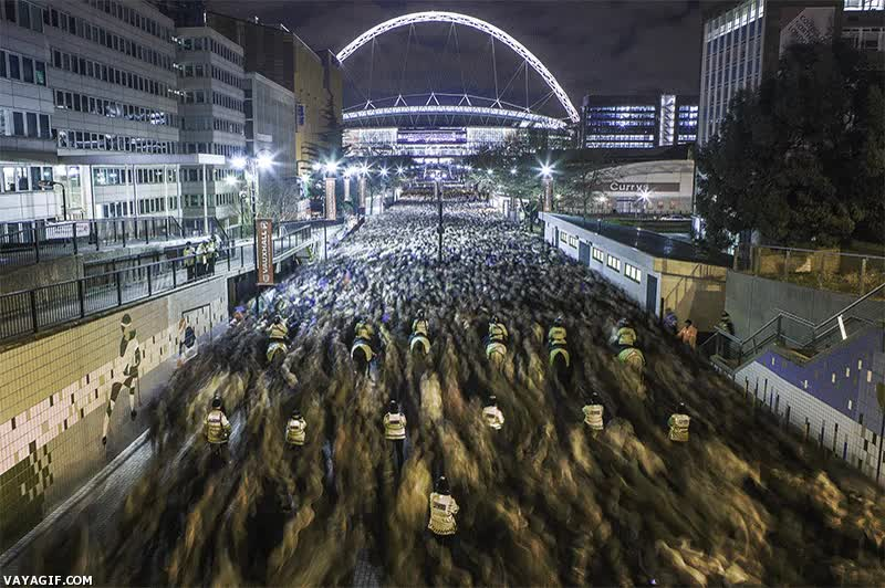 Enlace a Y así es como se vacía el estadio de Wembley