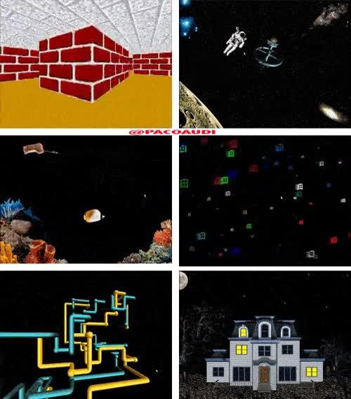 Enlace a Salvapantallas de Windows 98, qué recuerdos...