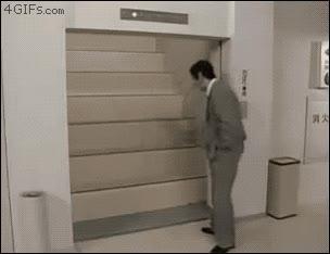 Enlace a En Japón hasta los ascensores te obligan a hacer ejercicio
