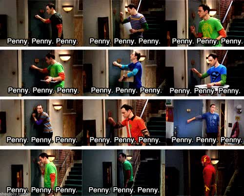 Enlace a ¡Knock knock knocking on Penny's Door!