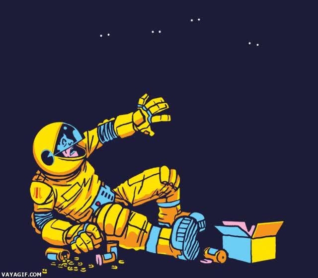 Enlace a Pacman, seguro que nunca te lo habías planteado así...