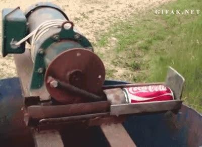 Enlace a Máquina comprimidor de latas
