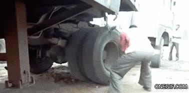 Enlace a Así se arranca un camión sin batería en la India