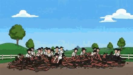 Enlace a No puedes librarte de los amish tan fácilmente