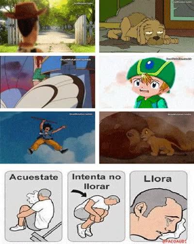 Enlace a Si nunca lloraste con alguna de estas escenas, no tuviste infancia