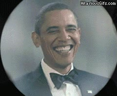 Enlace a Obama sabe por qué se ríe