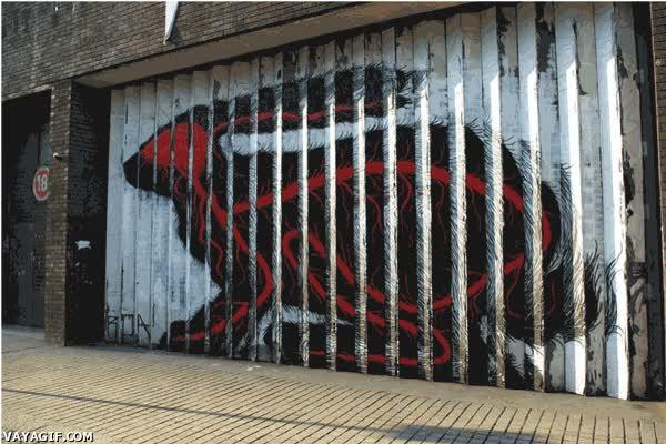 Enlace a El arte callejero nunca dejará de impresionarnos