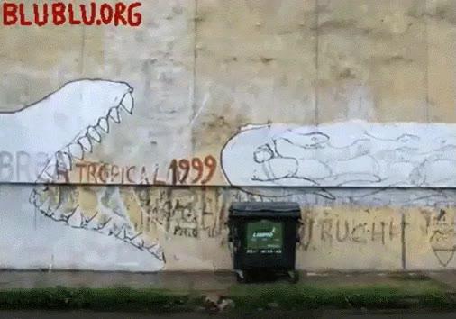 Enlace a Street art que te deja con la boca abierta