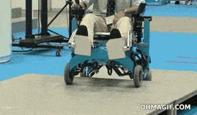 Enlace a Un gran avance para las personas en silla de ruedas