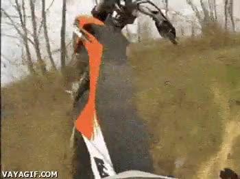 Enlace a No pasa nada moto, tú ves tirando que yo voy detrás...