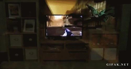 Enlace a Futuro proyector a pantalla gigante para jugar