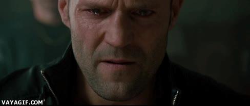Enlace a Jason Statham llorando, ya puedes morir tranquilo