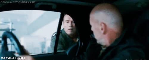 Enlace a A tomar por culo la puerta, nivel: Schwarzenegger