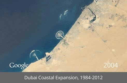 Enlace a Así ha evolucionado Dubai en 28 años [Timelapse]