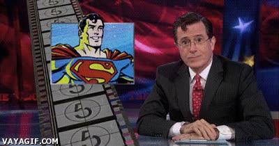Enlace a Superman ahora trabaja en la televisión, pero guardadle el secreto