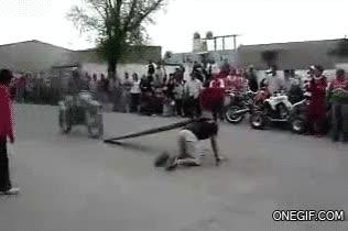 Enlace a Salto de rampa humana fail
