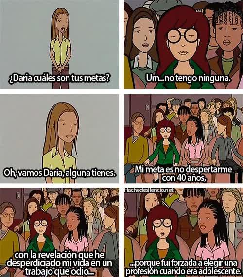 Enlace a Daria, dejando las cosas bien claras