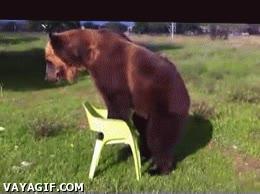 Enlace a Para que luego digan que las sillas de plástico no aguantan nada