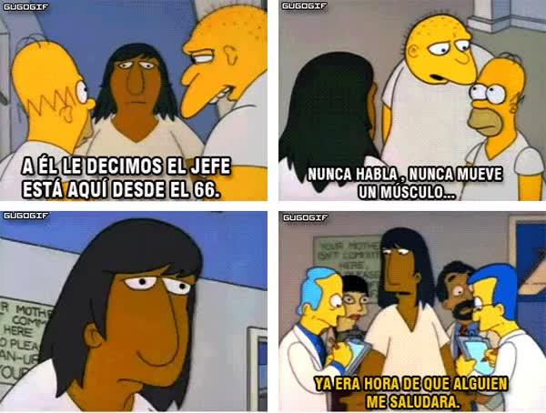 Enlace a Los Simpson nos enseñaron a que algunos problemas tienen soluciones simples