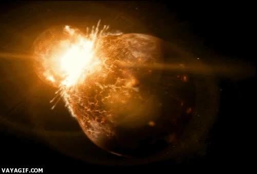 Enlace a ¿Y si dos planetas chocasen?