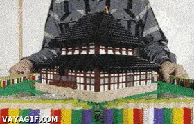 Enlace a Y yo que construía una casa con cuatro piezas y ya me creía un experto en Lego