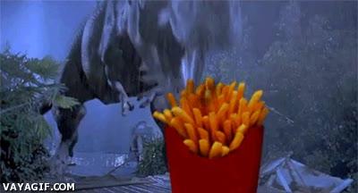 Enlace a Los T-rex también aman las patatas fritas