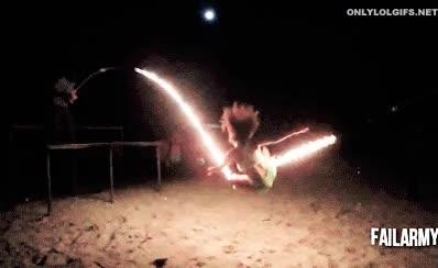 Enlace a ¿Saltar una cuerda en llamas? ¿Por qué no?