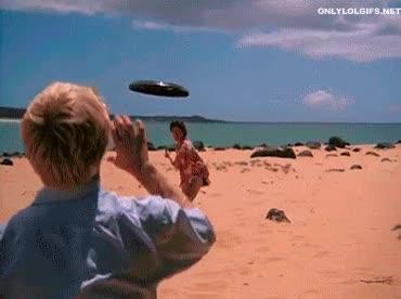 Enlace a El poder mortífero de los frisbees