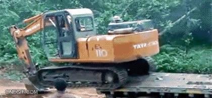 Enlace a Habilidad máxima conduciendo una excavadora