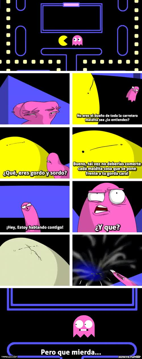 Enlace a Pacman como nunca lo habías visto