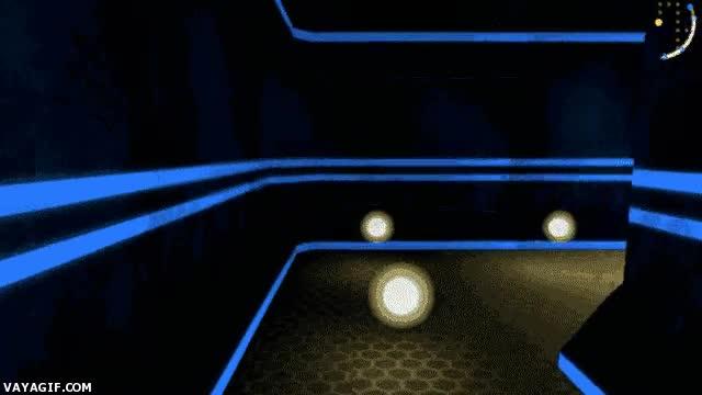 Enlace a Como veríamos el Pac-Man en primera persona