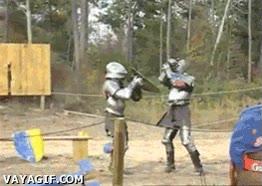 Enlace a ¿Lucha de espadas? Me sobra y me basta con el escudo