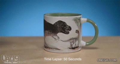 Enlace a A mí que siempre me han gustado los dinosaurios, ¡quiero esta taza pero ya!