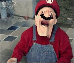 Enlace a Vale, suficientes setas por hoy, Super Mario