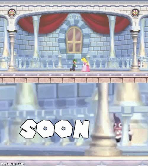 Enlace a No te confíes demasiado, Luigi