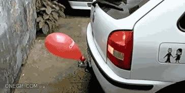 Enlace a ¿Costosos sensores de aparcamiento? Bitch please, yo tengo un globo...