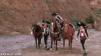 Enlace a Lo malo de cabalgar en grupos de tres