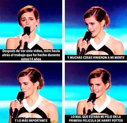 Enlace a Emma Watson haciendo balance de su carrera cinematográfica en Harry Potter