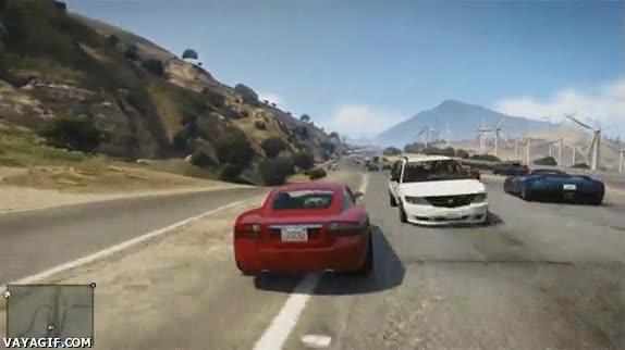 Enlace a Y en breve podremos volver a conducir muy produntemente por las carreteras del GTA