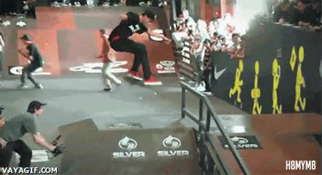 Enlace a Doble 360º backflip, mis respetos a este skater