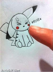 Enlace a No te metas con Pikachu, ni siquiera cuando en forma de dibujito