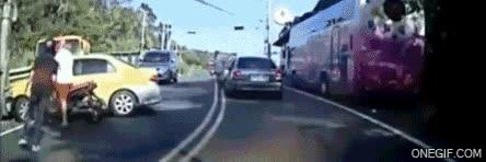 Enlace a La típica situación de tráfico que te puedes encontrar en Taiwan